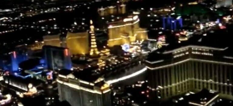Helikopterflug über Las Vegas