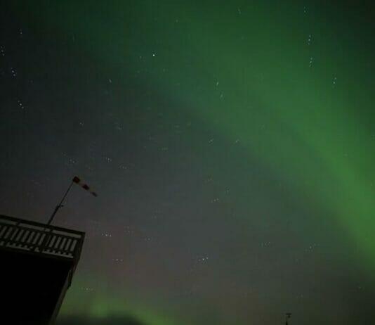 Polarlichter Schweden
