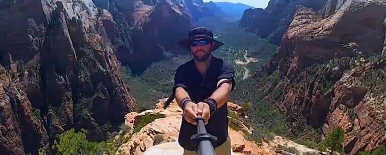 Das 600 Tage Selfie