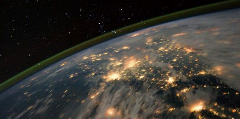 Die Erde bei Nacht – Aufnahmen der ISS
