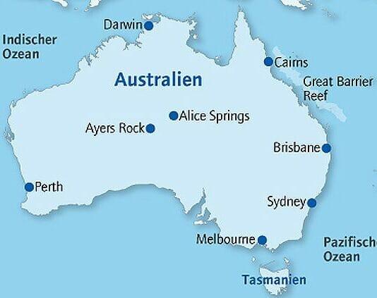KarteAutralien