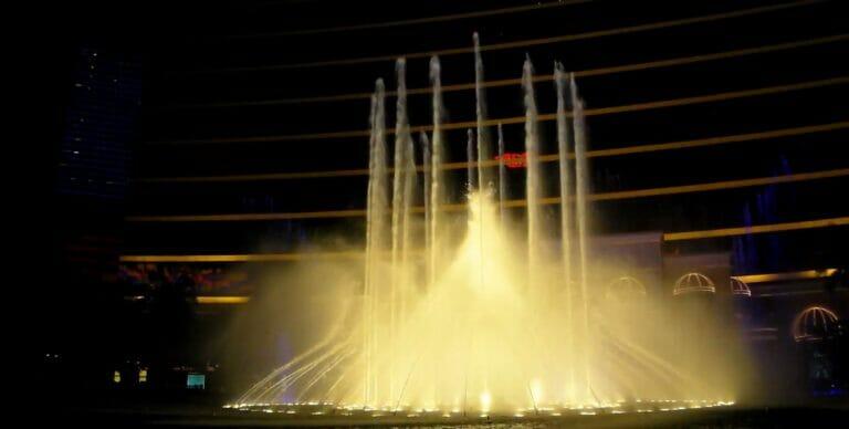 Wasserspiel Wynn's Kasino Macau