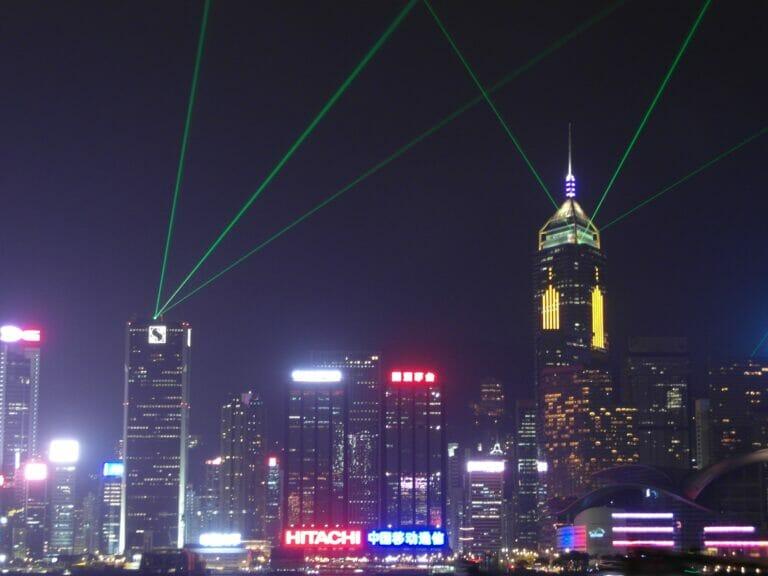 Symphonie des Lichts, Hong Kong