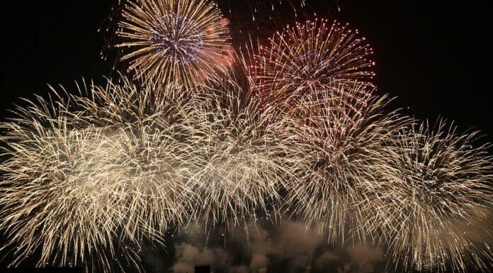 Feuerwerk Sonnwendfeier Oensingen Titel