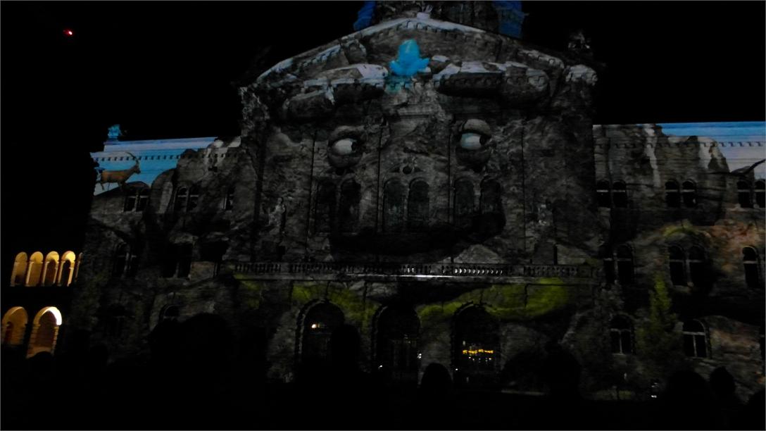 Lichtshow rendezvous bundesplatz 2015 2085