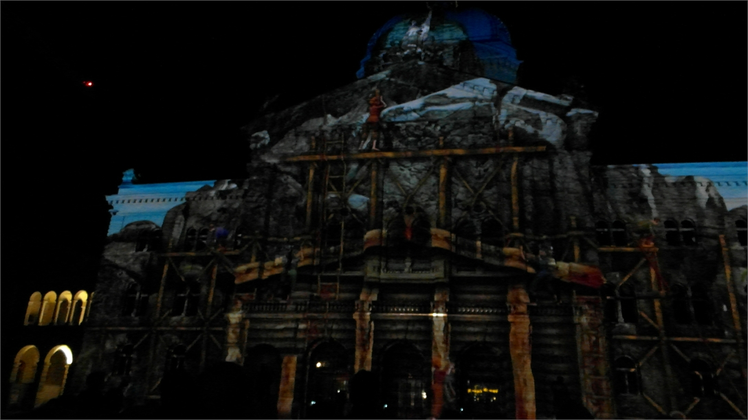Lichtshow rendezvous bundesplatz 2015 2086