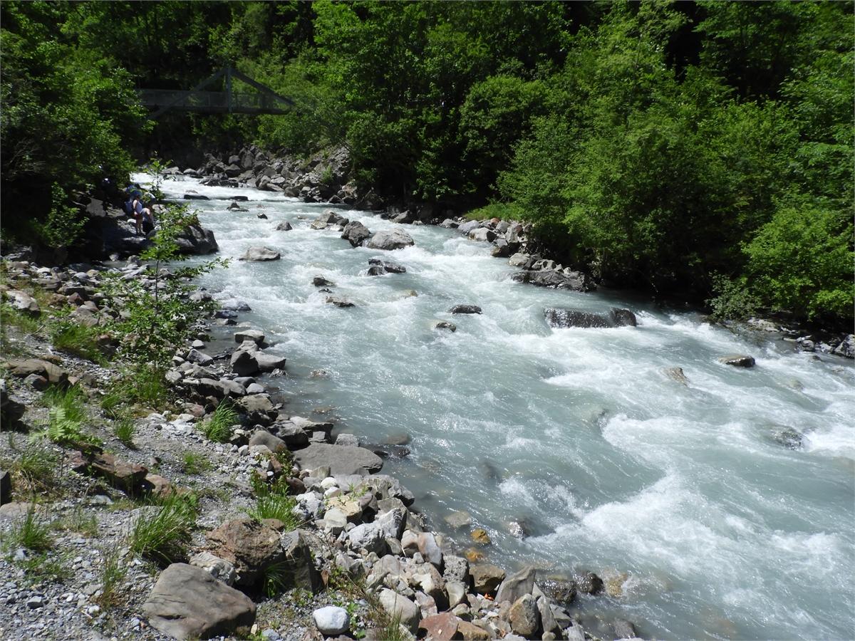 Blausee Kandersteg, Fluss im Naturpark