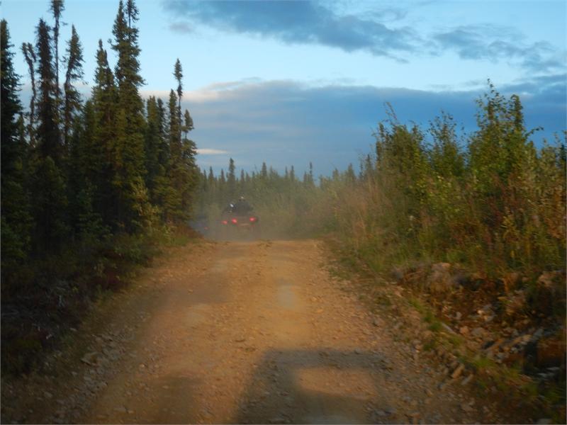 Fairbanks ATV Tour 073106 1309