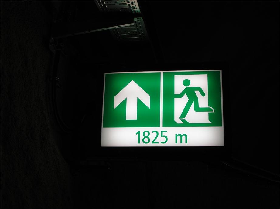 Gotthard Basistunnel 2357