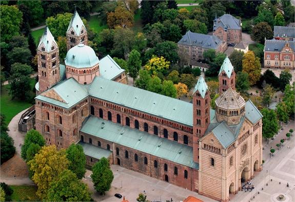 Speyer Dom Luftbild008