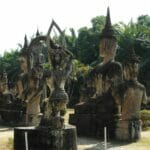 Vientiane Laos Buddha Par 1785