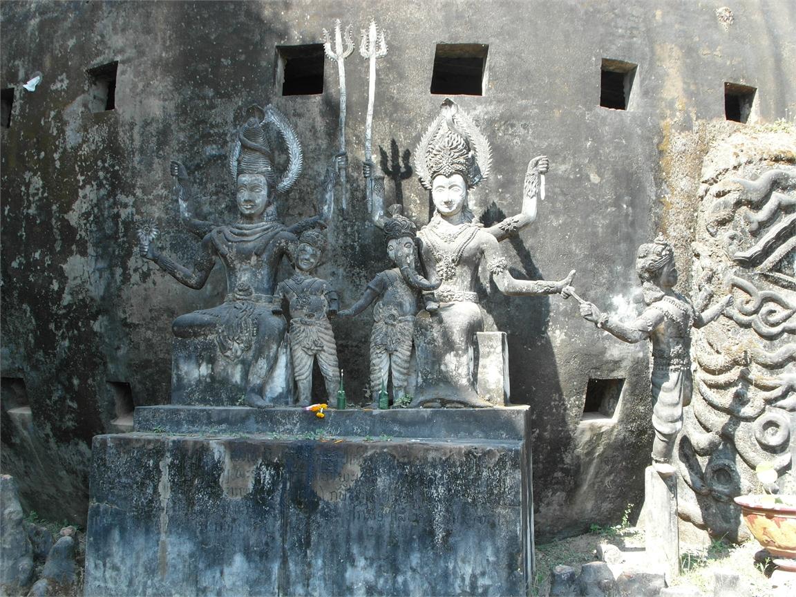 Vientiane Laos Buddha Par 1786