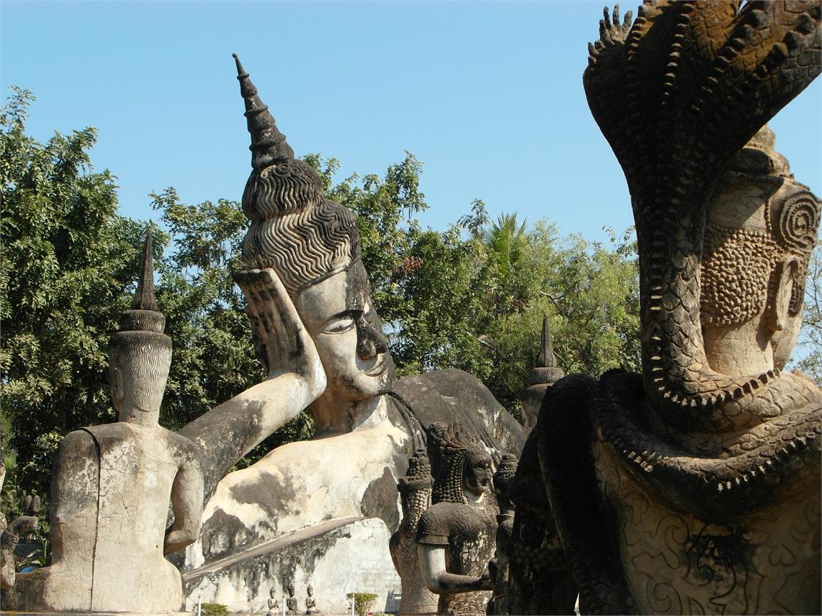 Vientiane Laos Buddha Par 1789