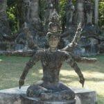 Vientiane Laos Buddha Par 1793