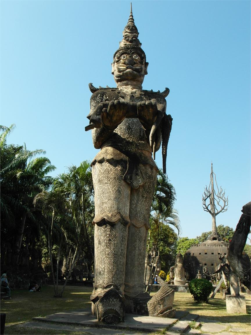 Vientiane Laos Buddha Par 1794