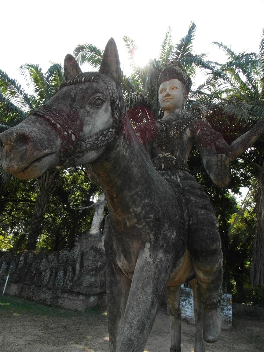 Vientiane Laos Buddha Par 1796