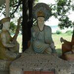 Vientiane Laos Buddha Par 1800