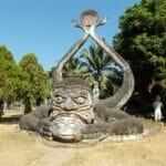 Vientiane Laos Buddha Par 1802