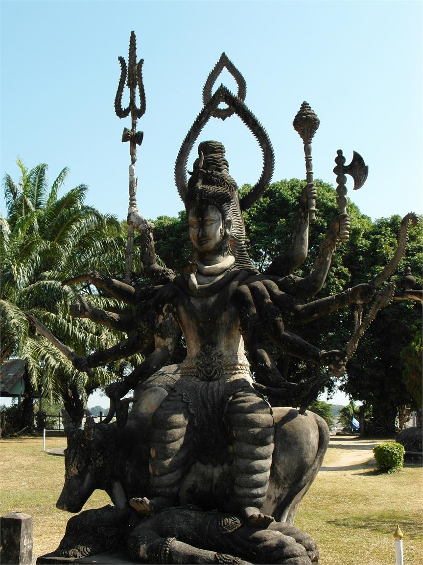 Vientiane Laos Buddha Par 1803