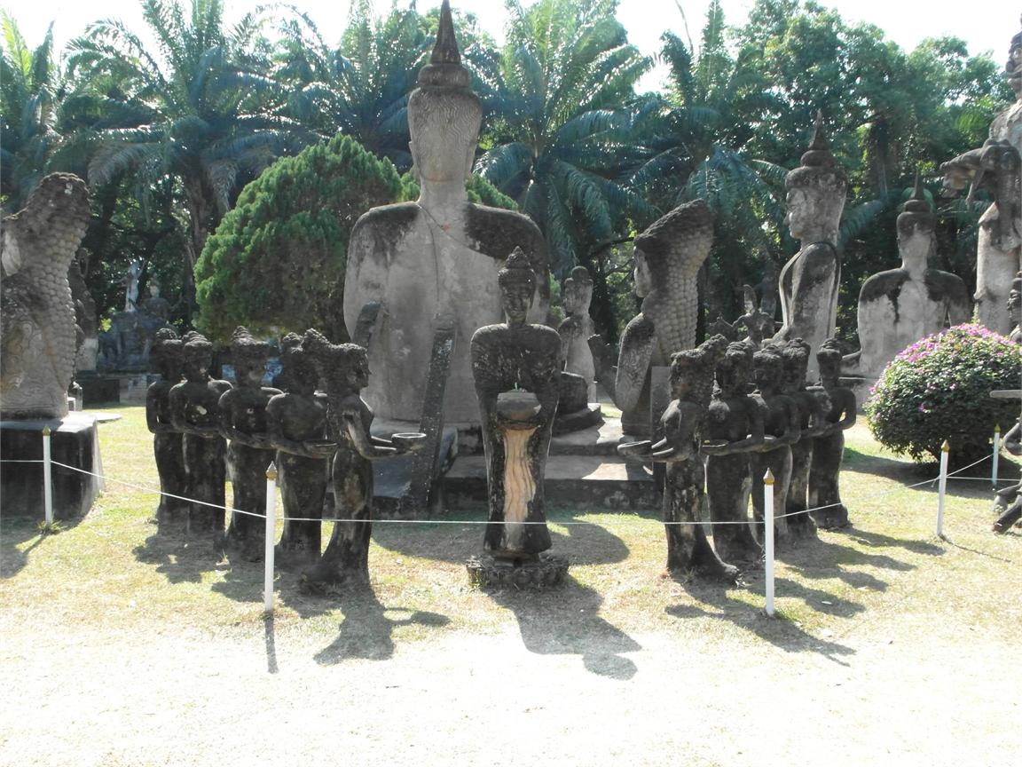 Vientiane Laos Buddha Par 1805
