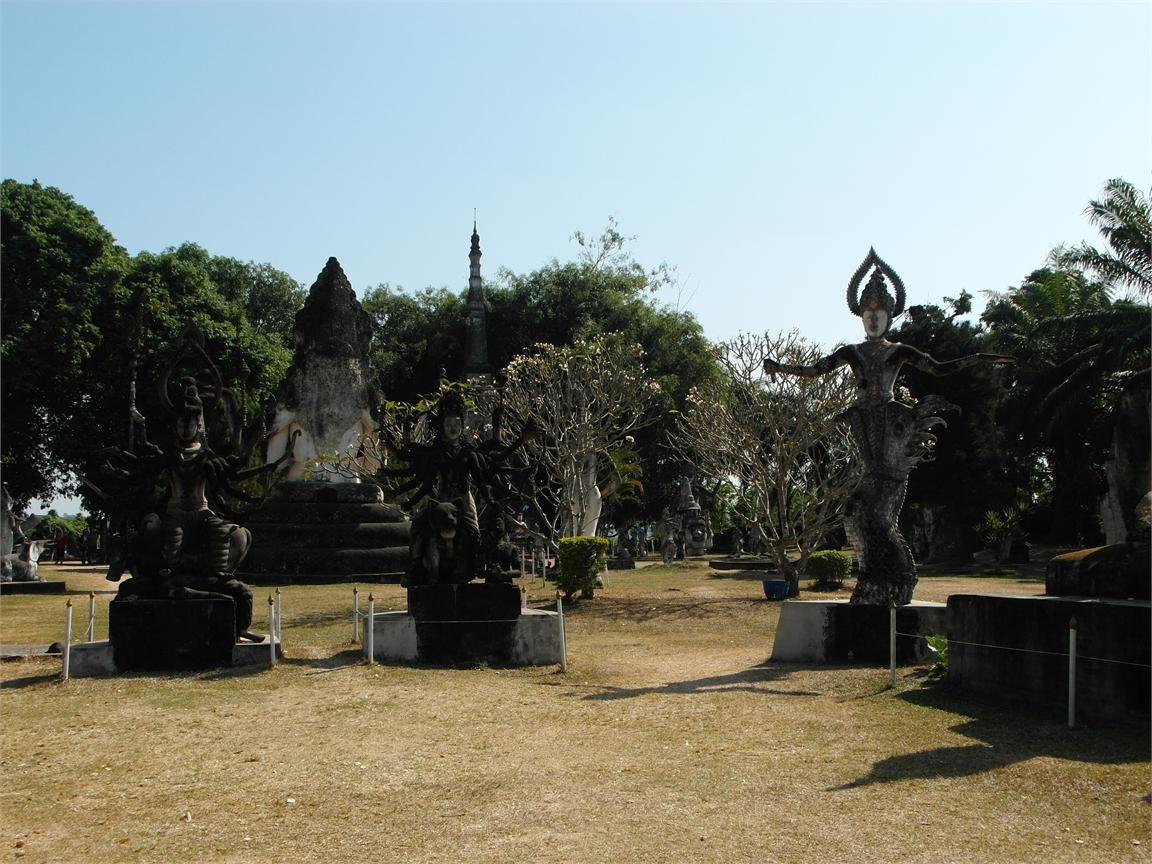 Vientiane Laos Buddha Par 1807
