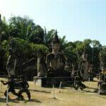 Vientiane Laos Buddha Par 1808