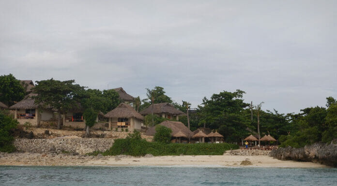 Hotel am Strand von Malapascua