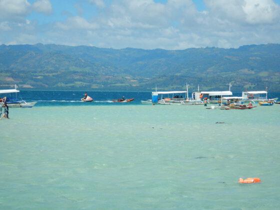 Schiffe auf der Sandbankuete