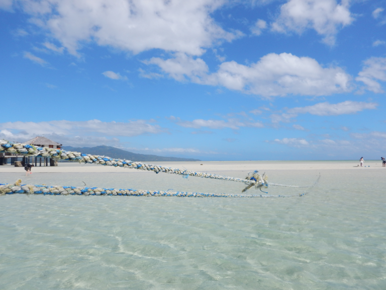 Manjuyod Sandbank, Philippinen