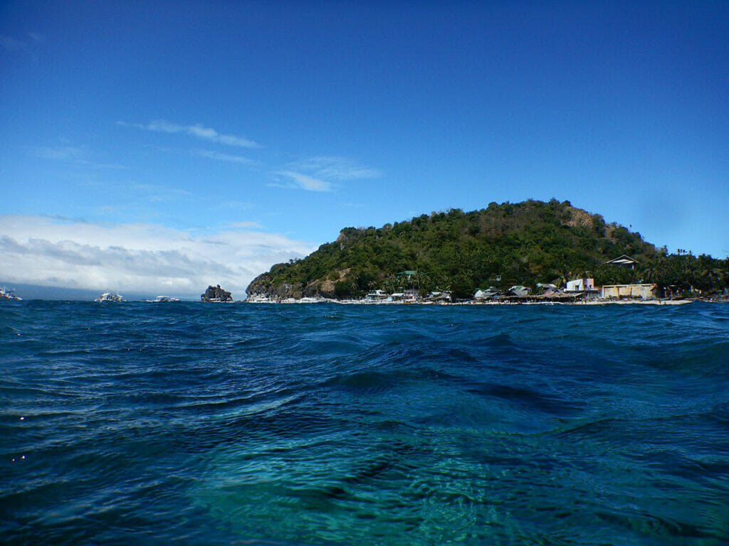 Apo Island Philippinen Strand