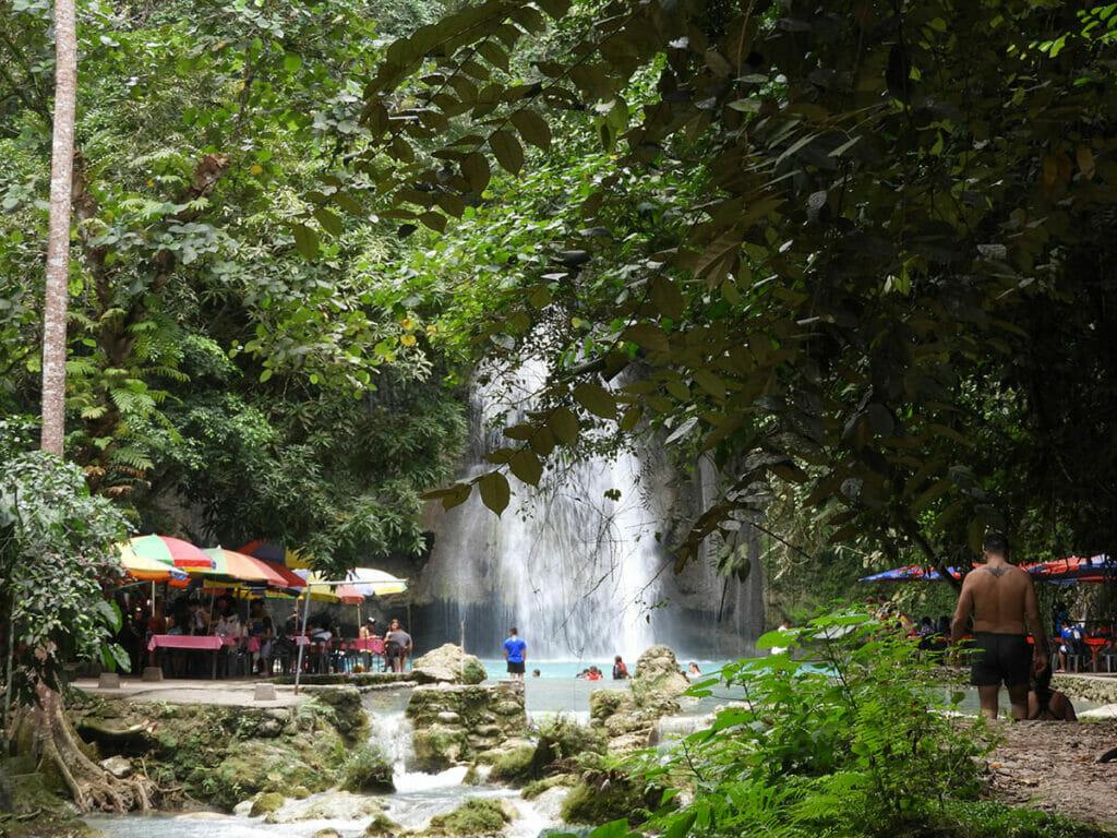 Kawasan Falls Philippinen