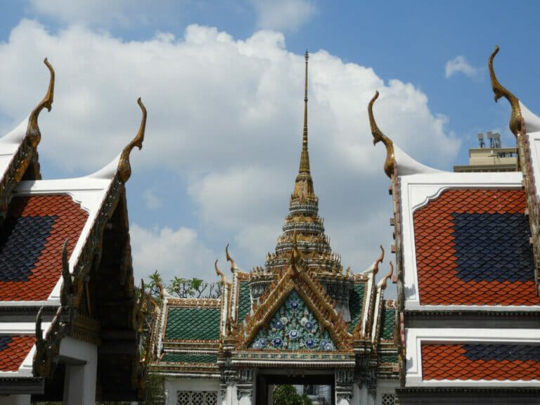Im Palast des Königs von Thailand