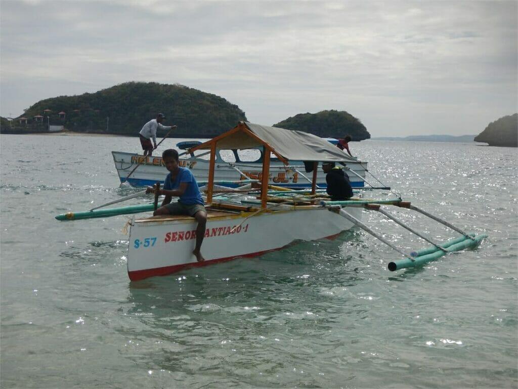 kleines Boot für die Tour im Nationalpark