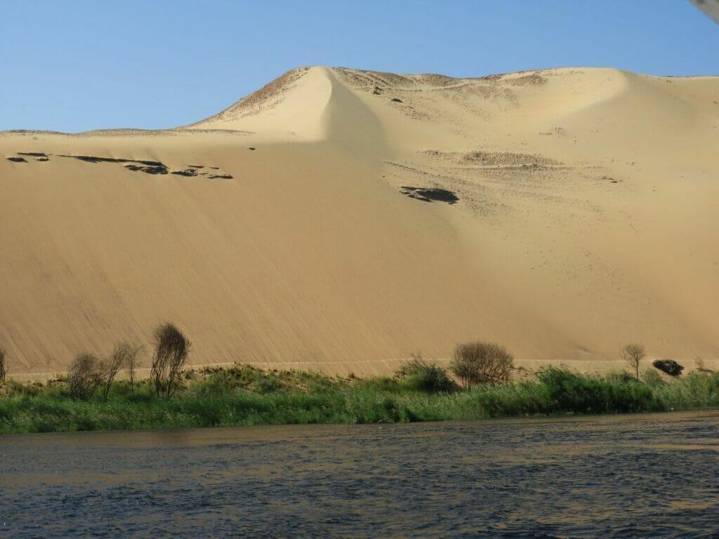 Wüste bis zum Nil