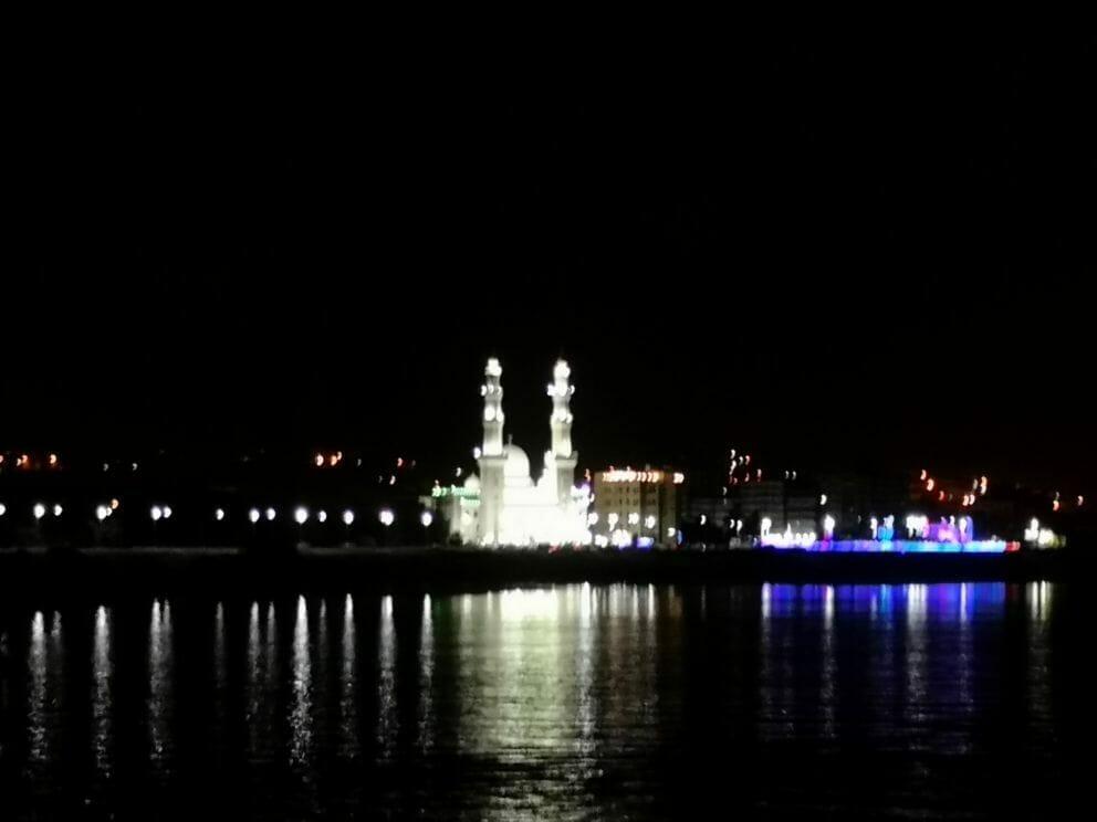 Assuan bei Nacht