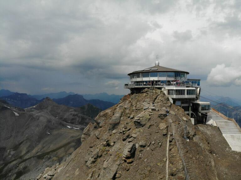 Ab auf das Schilthorn im Berner Oberland