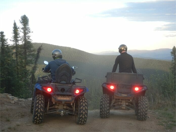 Fairbanks ATV Tour 073404 1312